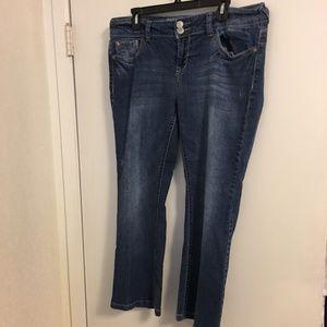 Wallflower Denim Jeans Womens Size 18